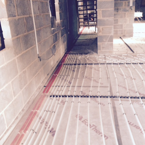 Underfloor Heating Clip System