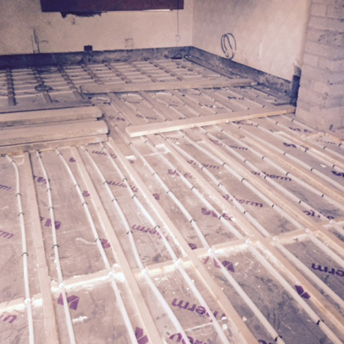 JOISTED FLOOR HEATING SYSTEMS