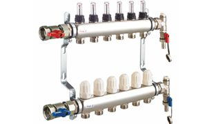 Manifolds for underfloor heating