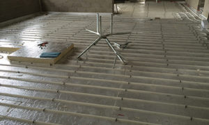 Screeded Tacker Underfloor