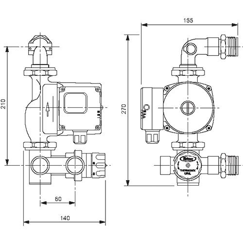 Thermomix UFH Manifold Pump