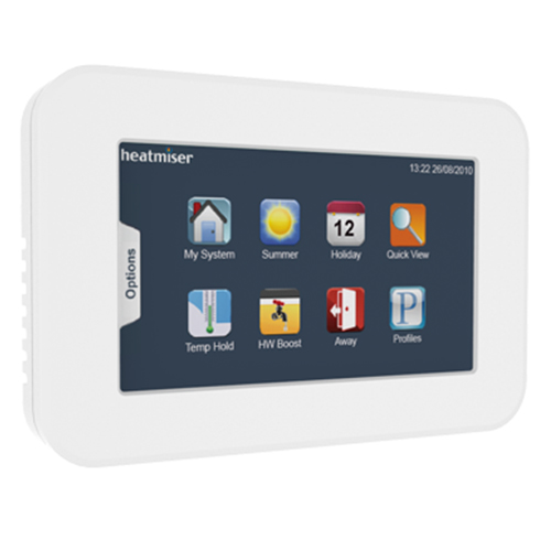 Touchpad heating controls